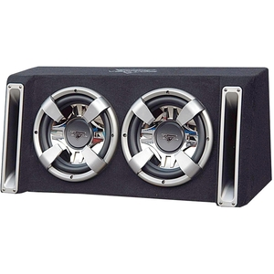Lanzar Vector 2400 Watts Dual 12'' Slim Designed Bass Box Enclosure