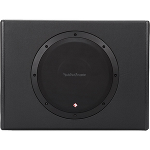 "Rockford Fosgate P300-10 Single 10"" 300 Watt Powered Subwoofer"
