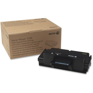 Black Toner Cartridge F/ Phaser 3320 11k Yield High Capacity / Mfr. No.: 106r02307