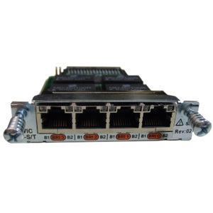 Cisco 4 Port ISDN BRI High-Speed WAN Interface Card