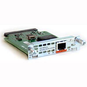 Cisco 1-Port ISDN BRI WAN Interface Card