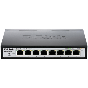 Easy Smart 8port Switch Stackable / Mfr. No.: Dgs-1100-08