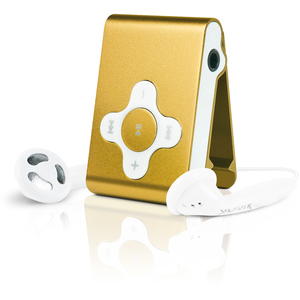 Yarvik PMP033 Run MP3 Player 4 GB Gold