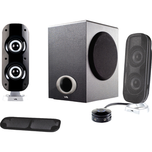 Cyber Acoustics 2.1 Powered Computer Speaker System / Mfr. No.: Ca-3810