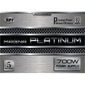 700w Atx Power Supply Eps12v Nk Ball Fan W/Pfc 92+ Platinum / Mfr. no.: R-FSP700-80ETN