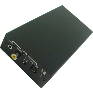 Composite Video/S-Video To HDMI Video Converter / Mfr. No.: 40-720phd