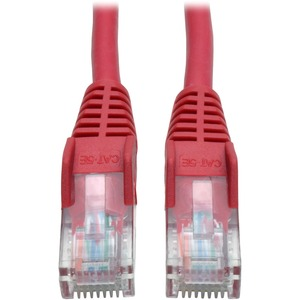 3ft Cat5e Cat5 350mhz Snagless Patch Cable RJ45 M/M Red 3 / Mfr. No.: N001-003-Rd