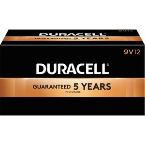 "Duracell® CopperTop® Batteries ""9V"" 12/box"