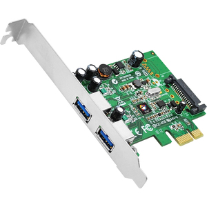 2port USB 3.0 PCIe 5gbps Value Superspeed / Mfr. No.: Ju-P20811-S1