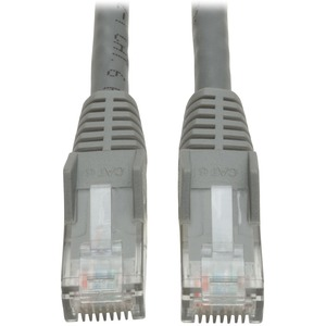 30ft Cat6 Gig Snagless Molded Patch Cable RJ45 M/M Gray / Mfr. No.: N201-030-Gy