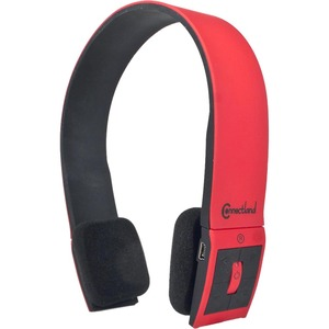 Syba Bluetooth Wireless Headset with Microphone - Red / Mfr. No.: Cl-Aud23030