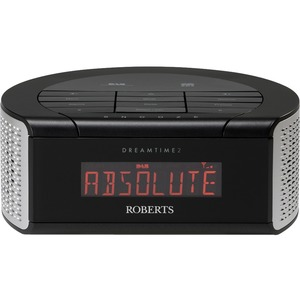 roberts dab fm rds digital clock radio with dual alarm. Black Bedroom Furniture Sets. Home Design Ideas
