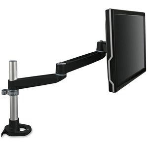Monitor Arm Desk Mount Black Dual Swivel W/Tilt Up To 30lbs / Mfr. No.: Ma140mb