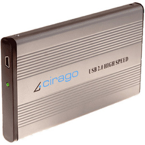 Cirago Cst1080r 80gb Portable Storage USB2.0 2.5in Recert / Mfr. No.: Cst1080r