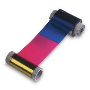 4color Dye-Sub Ribbon Clear Resin Black 250ct Fargo Card Pr