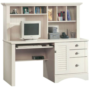 Sauder® Harbor View Computer Desk with Hutch