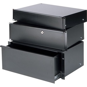 Chief 3U Economy Rack Drawer with Lock