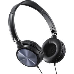 Pioneer Fully Enclosed Dynamic Headphones with Swivel Mechanism (Black)