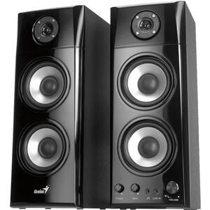 Genius 50-watt Three-way Hi-Fi Wood Speakers