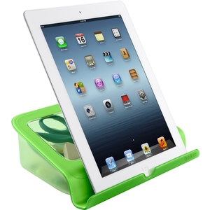 Education Green Stand With Storage For Tablet / Mfr. no.: B2B027-01