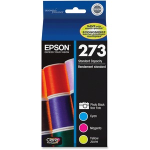 Epson Expression Photo Ink Color Multipack Ink Cartridge / Mfr. No.: T273520