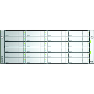 Promise Technology VTrak E830fD - Hard drive array - 72 TB - 24 bays ( SATA-600 / SAS-2 ) - 24 x 3 TB - 8Gb Fibre Channel (external) - rack-mountable - 4U / Mfr. No.: E830fdqs3