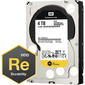 4tb SATAIII 7.2k RPM 64mb 3.5in Disc Prod Special Sourcing See Not / Mfr. No.: Wd4000fyyz