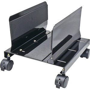 Sy-Acc65063 All Metal Heavy Duty CPU Stand W/ Castors Alumi / Mfr. No.: Sy-Acc65063