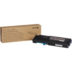 Cyan Toner Cartridge Na For 6600 and 6605 Std Cap / Mfr. No.: 106r02241