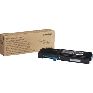 Cyan Toner Cartridge Na For 6600 and 6605 High Capacity / Mfr. No.: 106r02225