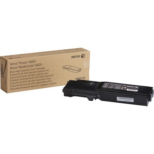 Black Toner Cartridge Na For 6600 and 6605 High Capacity / Mfr. No.: 106r02228