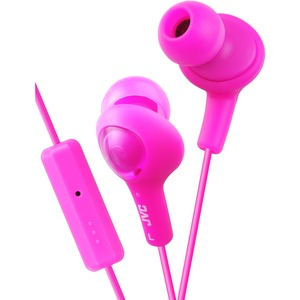 Gumy Plus Inner Ear With Mic Remote - Pink / Mfr. No.: Hafr6p