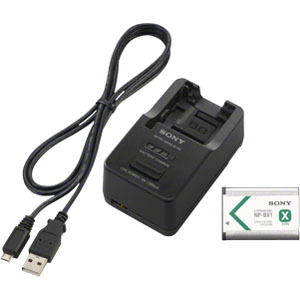 Kit W/ Np-Bx1 For Dcs-Rx100 Charger Battery and Micro USB Cab / Mfr. No.: Acctrbx