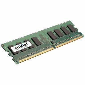 MóduloRAMCrucialCT25664AA1067-2GB-DDR2SDRAM-1066MHzDDR2-1066/PC2-8500-240-clavijas-DIMM