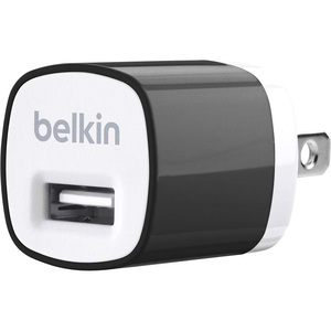 Belkin MIXIT USB Home Charger for iPhone - Black / Mfr. No.: F8j017ttblk