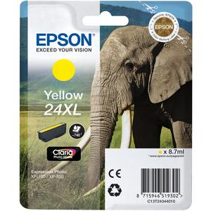 Ink/24XL EPSON Elephant 8.7ml YL SEC - C13T24344022