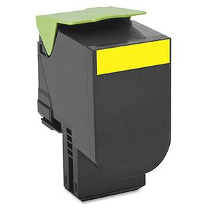 700h4 Yellow High Yield Toner Cartridge / Mfr. No.: 70c0h40