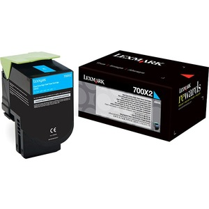 700x2 Cyan Extra High Yield Toner Cartridge / Mfr. no.: 70C0X20