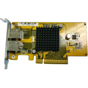 Dual Port 10gbase-T Expansion Card For Rack Low-Profile Brack / Mfr. No.: Lan-10g2t-U