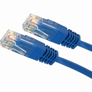 15ft Cat5e Blue Molded Patch Cable / Mfr. no.: 4XC5EPATCH15BL