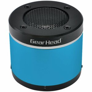 Gear Head Portable Bluetooth Speaker for iPad and iPhone - Blue / Mfr. No.: Bt3000blu