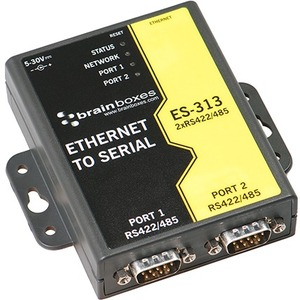 2port Rs422/485 Ethernet To Serial Device Server 1 Megabaud / Mfr. No.: Es-313
