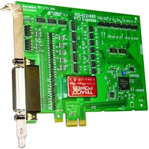 Brainboxes PCIe 4xRS422/485 1MBaud Opto Isolated