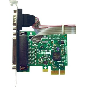 Brainboxes 1-port PCI Express Serial/Parallel Combo Adapter