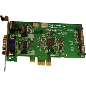 Brainboxes LP PCIe 1xRS232 POS 1A SATA