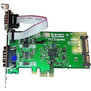 Brainboxes PCIe 2xRS232 POS 1A SATA