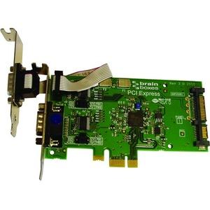 Brainboxes LP PCIe 1+1xRS232 POS 1A IDE