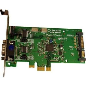 Brainboxes PCIe 1xRS232 POS 1A SATA
