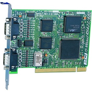 Brainboxes 2 Port RS422/485 PCI card up to 18 MegaBaud