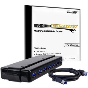 7port Copy Pro USB 3.0 With USB 3.0 Hub / Mfr. No.: Kcp-U3